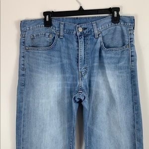 Levi's 559 High Rise Faded Jeans Straight leg